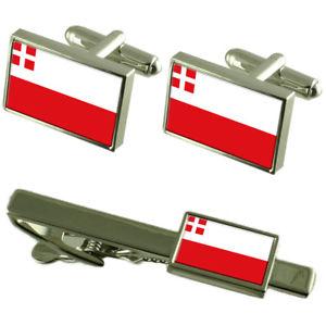 【送料無料】メンズアクセサリ― ユトレヒトカフスボタンタイクリップマッチングボックスセットutrecht flag cufflinks tie clip matching box gift set