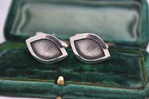 【送料無料】メンズアクセサリ― ビンテージスターリングシルバーアールデコデザインカフリンクスvintage sterling silver cufflinks with an art deco design b894