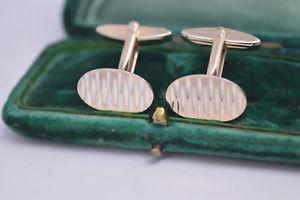 【送料無料】メンズアクセサリ― ビンテージスターリングシルバーアールデコデザインカフリンクスvintage sterling silver cufflinks with an art deco design b570