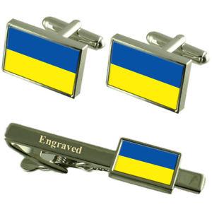 【送料無料】メンズアクセサリ― オーストリアカフスボタンタイクリップマッチングボックスlower austria flag cufflinks engraved tie clip matching box set