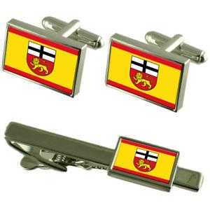 【送料無料】メンズアクセサリ― ドイツボンドイツカフスボタンタイクリップボックスセットbonn city germany flag cufflinks tie clip box gift set