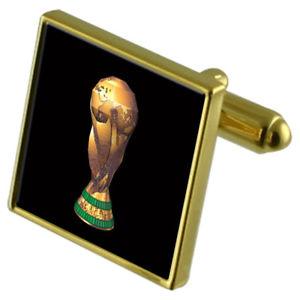 【送料無料】メンズアクセサリ― サッカートロフィーカフスボタンクリスタルタイクリップセットfootball winners trophy goldtone cufflinks crystal tie clip gift set