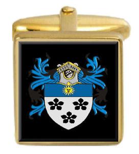 【送料無料】メンズアクセサリ― イングランドカフスボタンボックスセットファミリークレストコートstone england family crest coat of arms heraldry cufflinks box set engraved
