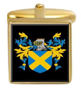 【送料無料】メンズアクセサリ― スコットランドカフスボタンボックスセットファミリークレストコートkyd scotland family crest coat of arms heraldry cufflinks box set engraved