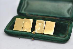 【送料無料】メンズアクセサリ― ビンテージスターリングシルバーアールデコデザインカフリンクスvintage sterling silver cufflinks with an art deco design b856