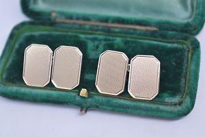 【送料無料】メンズアクセサリ― ビンテージスターリングシルバーアールデコデザインカフリンクスvintage sterling silver cufflinks with an art deco design b732