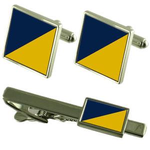 【送料無料】メンズアクセサリ― ロイヤルロジスティックタイクリップカフスボタンarmy the royal logistic corps trf tie clip cufflinks matching set