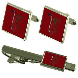 【送料無料】メンズアクセサリ― インテリジェンスタイクリップカフスボタンarmy intelligence 7 mi battallion tie clip cufflinks matching set
