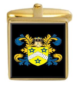 【送料無料】メンズアクセサリ― レーンイングランドカフスボタンボックスセットファミリークレストコートlane england family crest coat of arms heraldry cufflinks box set engraved