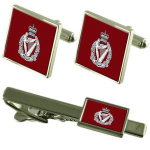 【送料無料】メンズアクセサリ― ロイヤルアイリッシュタイクリップカフスボタンarmy the royal irish regiment tie clip cufflinks matching set