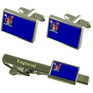 【送料無料】メンズアクセサリ― セルビアカフスボタンタイクリップセットnis city serbia flag cufflinks engraved tie clip set