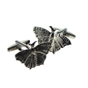 【送料無料】メンズアクセサリ― バタフライシロメmensカフスリンクカフスリンクenglish made butterfly pewter mens cufflinks cuff links gift