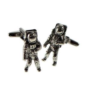 【送料無料】メンズアクセサリ― ピューターメンズカフスボタンカフリンクスenglish made astronaut pewter mens cufflinks cuff links gift
