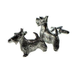 【送料無料】メンズアクセサリ― スコッティドッグピューターメンズカフスボタンカフリンクスenglish made scottie dog pewter mens cufflinks cuff links gift