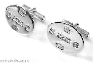 【送料無料】メンズアクセサリ― ロバーツスターリングシルバーロンドンカフスボタンカフリンクroberts amp; co hallmarked sterling silver 925 cufflinks cuff links made in london