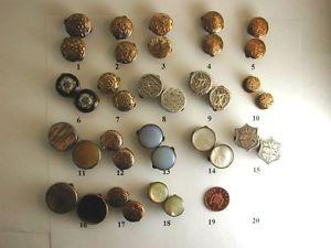 【送料無料】メンズアクセサリ― ビクトリアアンティークゴールドシルバーエナメルモップガラスカフスボタンselection of victorian antique goldsilver, enamelled, mop, glass etc cufflinks