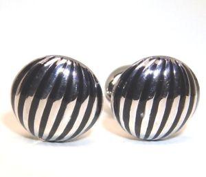 【送料無料】メンズアクセサリ― スターリングシルバーロンドンカフリンクス925 sterling silver seven london cuff links