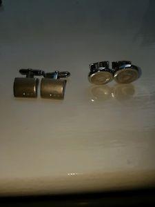 【送料無料】メンズアクセサリ― セットtateossian and 925 cufflink set