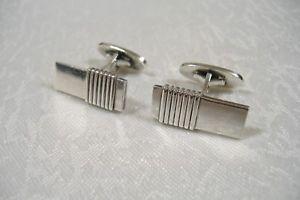 【送料無料】メンズアクセサリ― ゲオルクイェンセンスターリングシルバーカフスボタン#georg jensen sterling silver 925 cufflinks 80