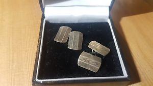 【送料無料】メンズアクセサリ― アールデコビンテージソリッドゴールドカフスボタンヘンリーグリフィスチェスターart deco vintage solid 9ct gold cufflinks henry griffith amp; sons chester