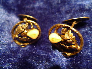 【送料無料】メンズアクセサリ― アンティークカフスボタングランスピンドルbeautiful, antique cufflinks__835 silver___ with gran spindles ___