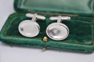 【送料無料】メンズアクセサリ― ビンテージスターリングシルバーロンドンドームリンクカフリンクスvintage sterling silver cufflinks with dome design links of london b588