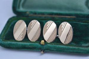 【送料無料】メンズアクセサリ― ビンテージアールデコデザインスターリングシルバーカフリンクスvintage sterling silver cufflinks with an art deco design b503