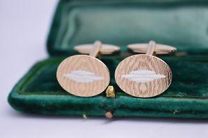 【送料無料】メンズアクセサリ― ビンテージアールデコデザインスターリングシルバーカフリンクスvintage sterling silver cufflinks with an art deco design b323