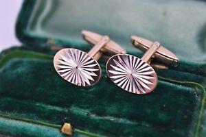 【送料無料】メンズアクセサリ― ビンテージアールデコスターリングシルバーゴールドプレートカフリンクスvintage art deco sterling silver cufflinks with a 9ct gold plate b43