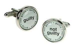 【送料無料】メンズアクセサリ― オニキスアートカフスボタンアクセサリシャツonyx art cufflinks guilty not guilty accessory shirt adult stag gift novelty