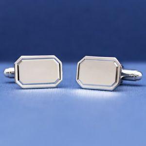 【送料無料】メンズアクセサリ― エスクァイアセントアイブススターリングシルバーカフリンクスesquire st ives sterling silver cufflinks