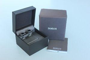 【送料無料】メンズアクセサリ― ダミアーニスクエアシルバーカフリンクスexcellent condition, authentic damiani square silver cufflinks