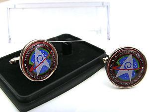 【送料無料】メンズアクセサリ― スタートレックセキュリティバッジメンズカフスボタンstar trek starfleet security badge mens cufflinks gift