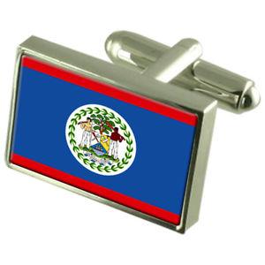 【送料無料】メンズアクセサリ― ベリーズスターリングフラグカフスリンクbelize sterling silver flag cufflinks
