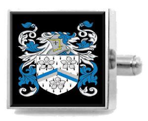 【送料無料】メンズアクセサリ― イギリスカフスボタンメッセージボックスcalver england heraldry crest sterling silver cufflinks engraved message box