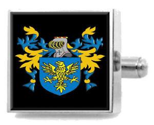 【送料無料】メンズアクセサリ― イギリスカフスボタンボックスshoveller england heraldry crest sterling silver cufflinks engraved box