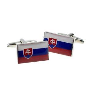 【送料無料】メンズアクセサリ― スロバキア×フラグカフスボタンslovakia flag cufflinks presented in a box x2bocf024