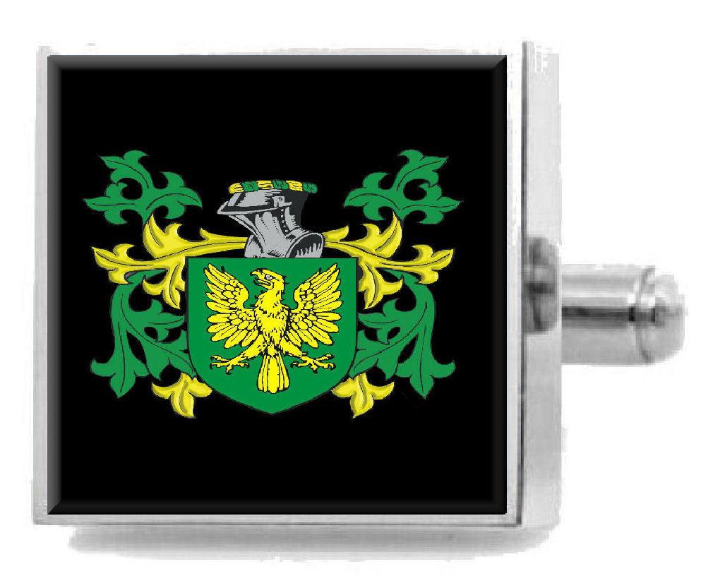 【送料無料】メンズアクセサリ― イギリスカフスボタンボックスebrington england heraldry crest sterling silver cufflinks engraved box