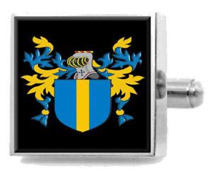 【送料無料】メンズアクセサリ― スコットランドカフスボタンボックスmccullar scotland heraldry crest sterling silver cufflinks engraved box