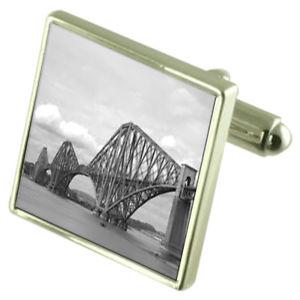 【送料無料】メンズアクセサリ― カフスボタンオプションボックスオンforth bridge sterling silver cufflinks optional engraved box