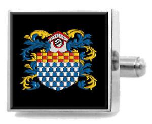 【送料無料】メンズアクセサリ― フレミングアイルランドカフスボタンメッセージボックスfleming ireland heraldry crest sterling silver cufflinks engraved message box