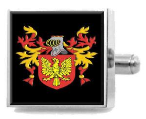 【送料無料】メンズアクセサリ― リチャードソンイングランドカフスボタンボックスrichardson england heraldry crest sterling silver cufflinks engraved box