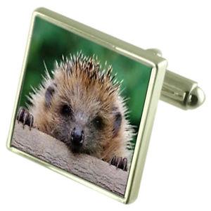 【送料無料】メンズアクセサリ― ハリネズミスターリングシルバーカフリンクスオプションボックスオンhedgehog sterling silver cufflinks optional engraved box