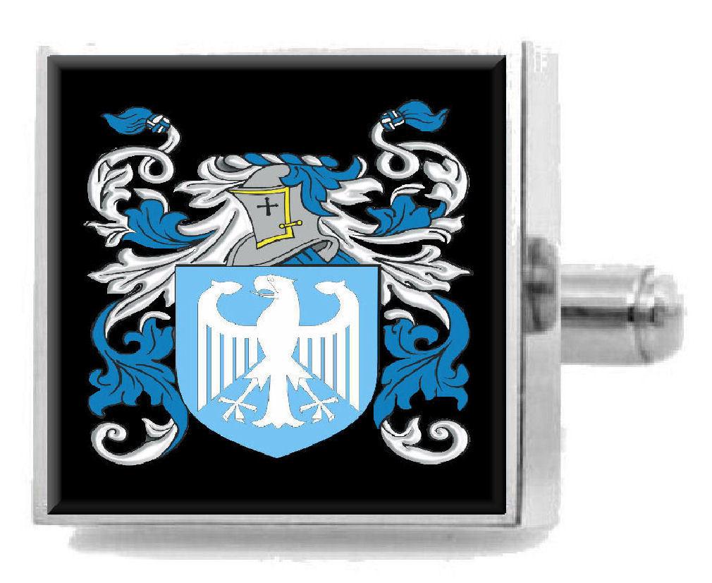 【送料無料】メンズアクセサリ― スコットランドカフスボタンボックスchristie scotland heraldry crest sterling silver cufflinks engraved box