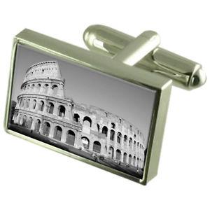 【送料無料】メンズアクセサリ― ローマampitheatreスターリング925カフスリンクroman ampitheatre sterling silver 925 cufflinks boxed