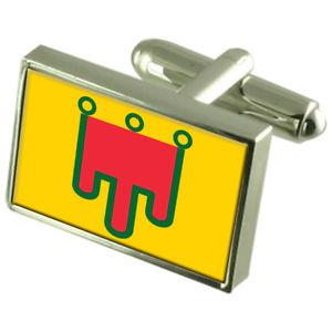 【送料無料】メンズアクセサリ― box オーヴェルニュフランススターリングフラグカフスリンクauvergne province france sterling france silver silver flag cufflinks engraved box, ケーオーリカーズ:5b47c1ab --- ferraridentalclinic.com.lb