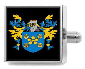 【送料無料】メンズアクセサリ― ブラムホールスターリングカフスリンクbramhall england heraldry crest sterling silver cufflinks engraved box