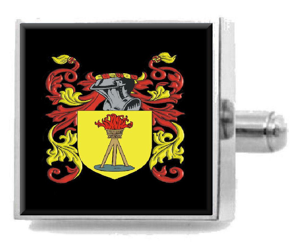 【送料無料】メンズアクセサリ― ギルドスターリングカフスリンクメッセージボックスguild england heraldry crest sterling silver cufflinks engraved message box