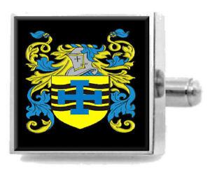 【送料無料】メンズアクセサリ― イギリスカフスボタンボックスchinchiff england heraldry crest sterling silver cufflinks engraved box