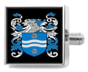 【送料無料】メンズアクセサリ― イギリスカフスボタンボックスthompsett england heraldry crest sterling silver cufflinks engraved box